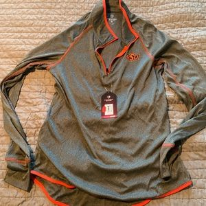Jackets & Blazers - Women's Oklahoma State University grey pullover
